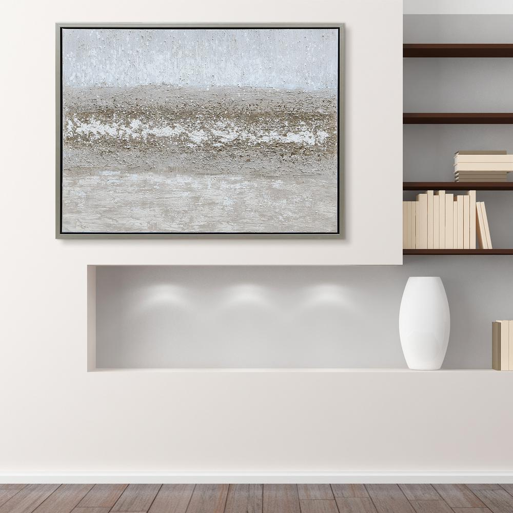 Empire Art Direct Sandpath Textured Metallic Hand Painted By