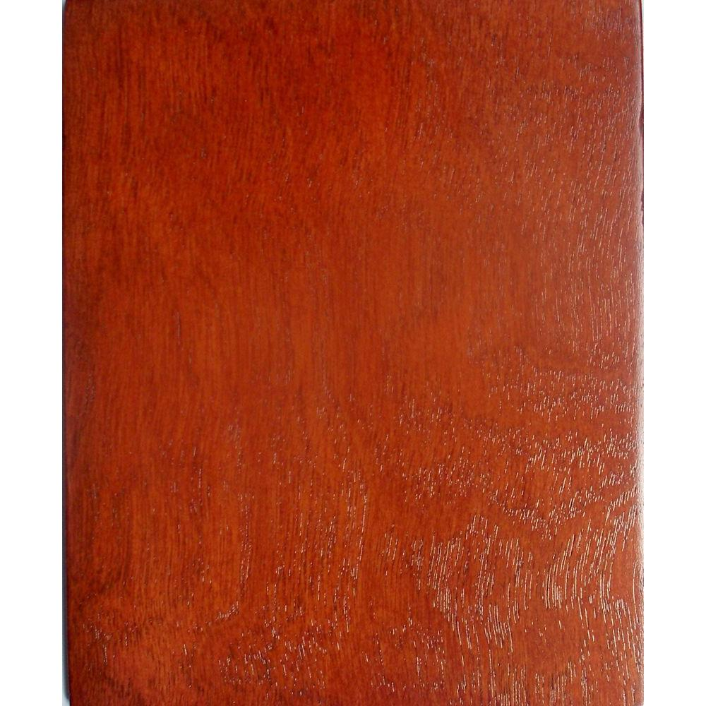Foremost Naples 4 in. x 4 in. Wood Sample in Warm Cinnamon