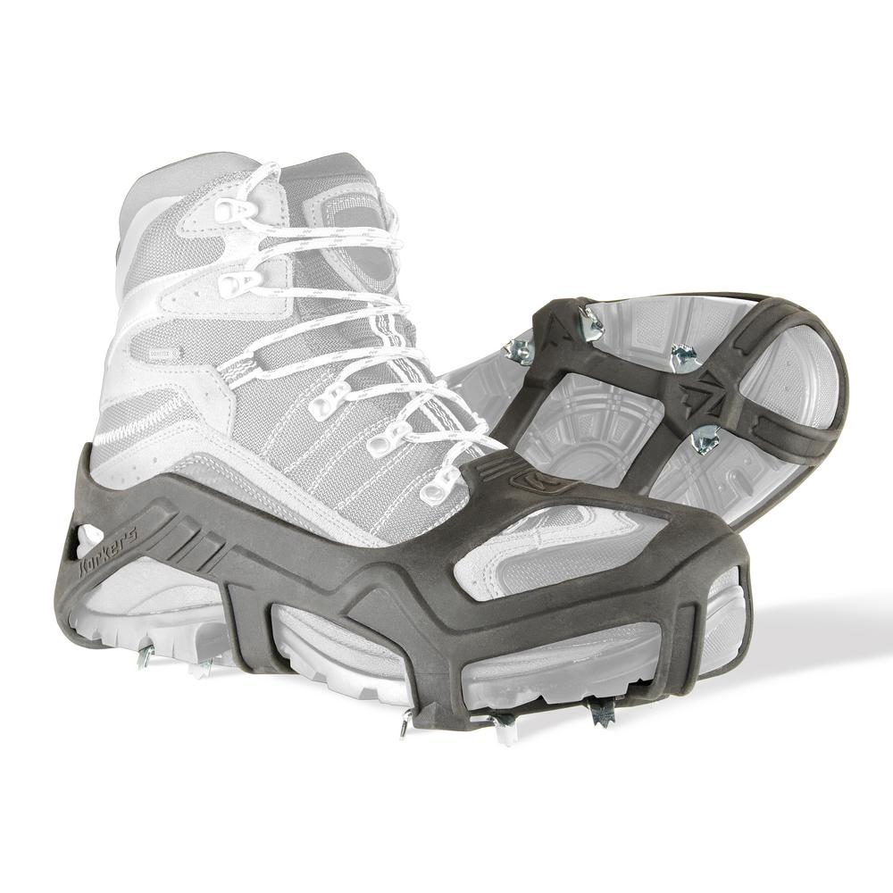 Apex Ice Cleat Size Small/Medium Black Stretch Rubber with 20-Sawtooth