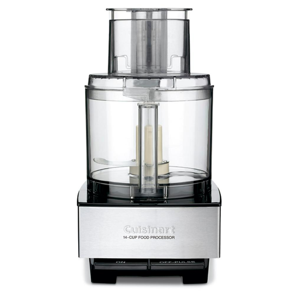 Cuisinart brushed stainless and black series custom 14 cup food cuisinart brushed stainless and black series custom 14 cup food processor forumfinder Choice Image