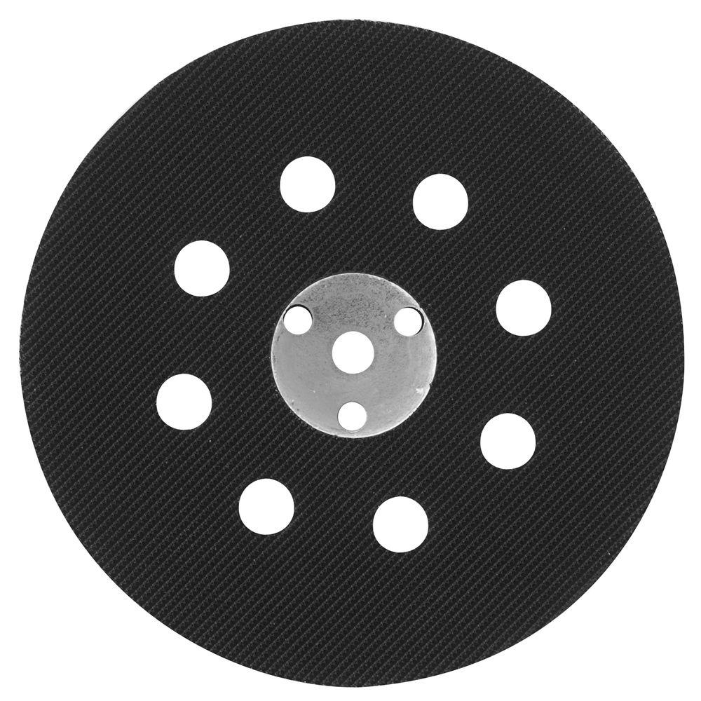 5 in. 8-Hole Hard Hook and Loop Sander Backing Pad