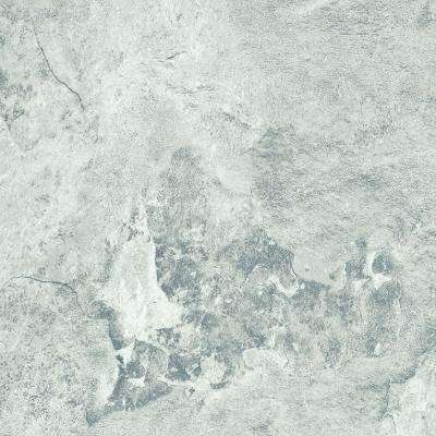 White Travertine 12 in. Width x 12 in. Length Resilient Peel and Stick Vinyl Tile