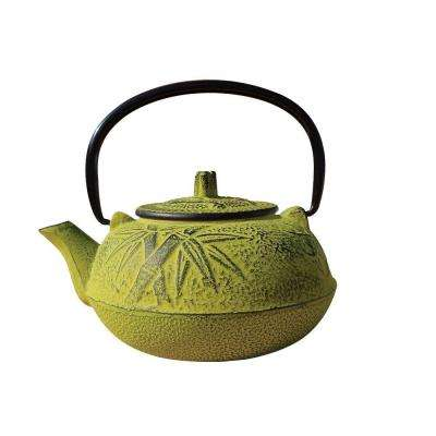 Osaka Teapot in Moss Green