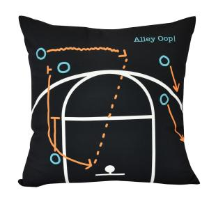 16 inch Alley Oop Geometric Print Decorative Pillow by