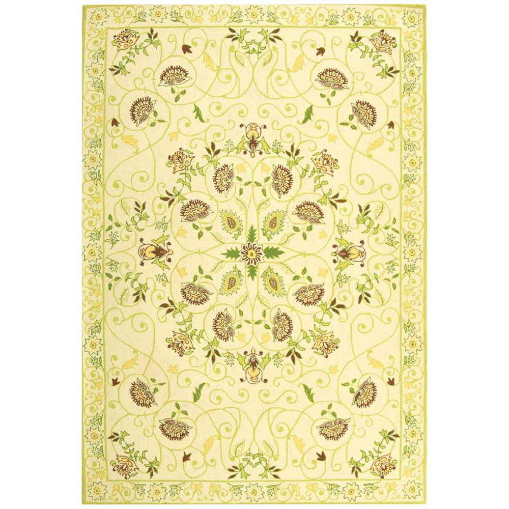 Chelsea Ivory/Green 5 ft. 3 in. x 8 ft. 3 in.