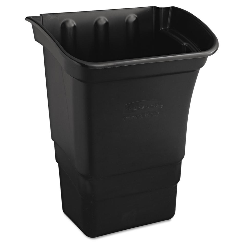 8 Gal. Black Trash Can