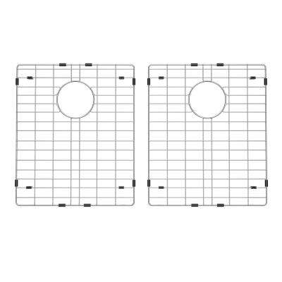 14.5 in. x 17.25 in. Stainless Steel Kitchen Sink Bottom Grid