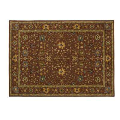 Dijon Terracotta 8 ft. x 11 ft. Area Rug