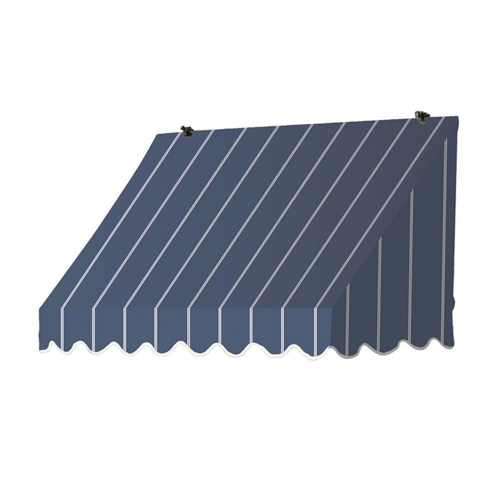 Awnings in a Box 4 ft. Traditional Manually Retractable Awning (26.5 in. Projection) in Tuxedo