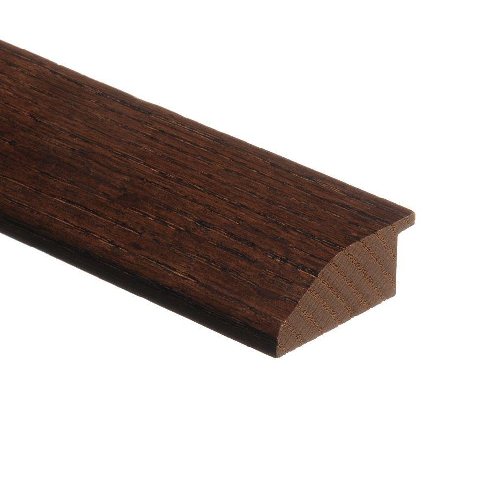 Zamma Oak Mocha 3/4 in. Thick x 1-3/4 in. Wide x 80 in. Length Hardwood Multi-Purpose Reducer Molding