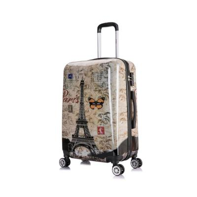 Paris Prints 24 in. Lightweight Hardside Spinner