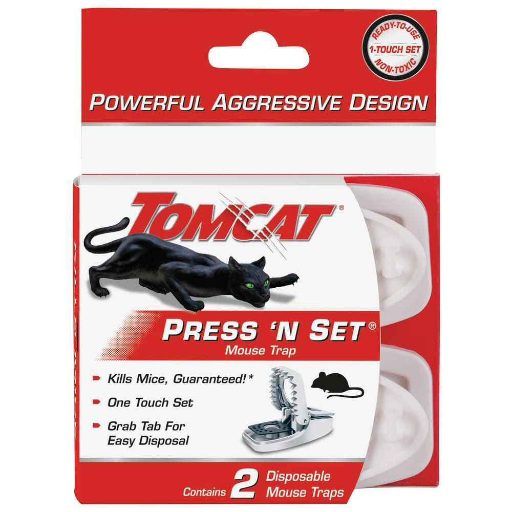 Tomcat Tomcat Press 'N Set Mouse Trap