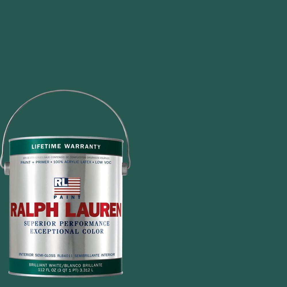 Ralph Lauren 1-gal. Archer Green Semi-Gloss Interior Paint