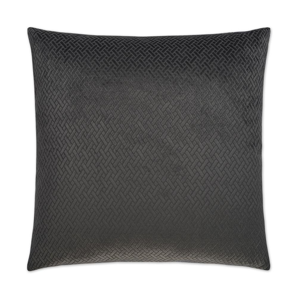 Flex charcoal feather down 24 in x 24 in standard decorative throw pillow