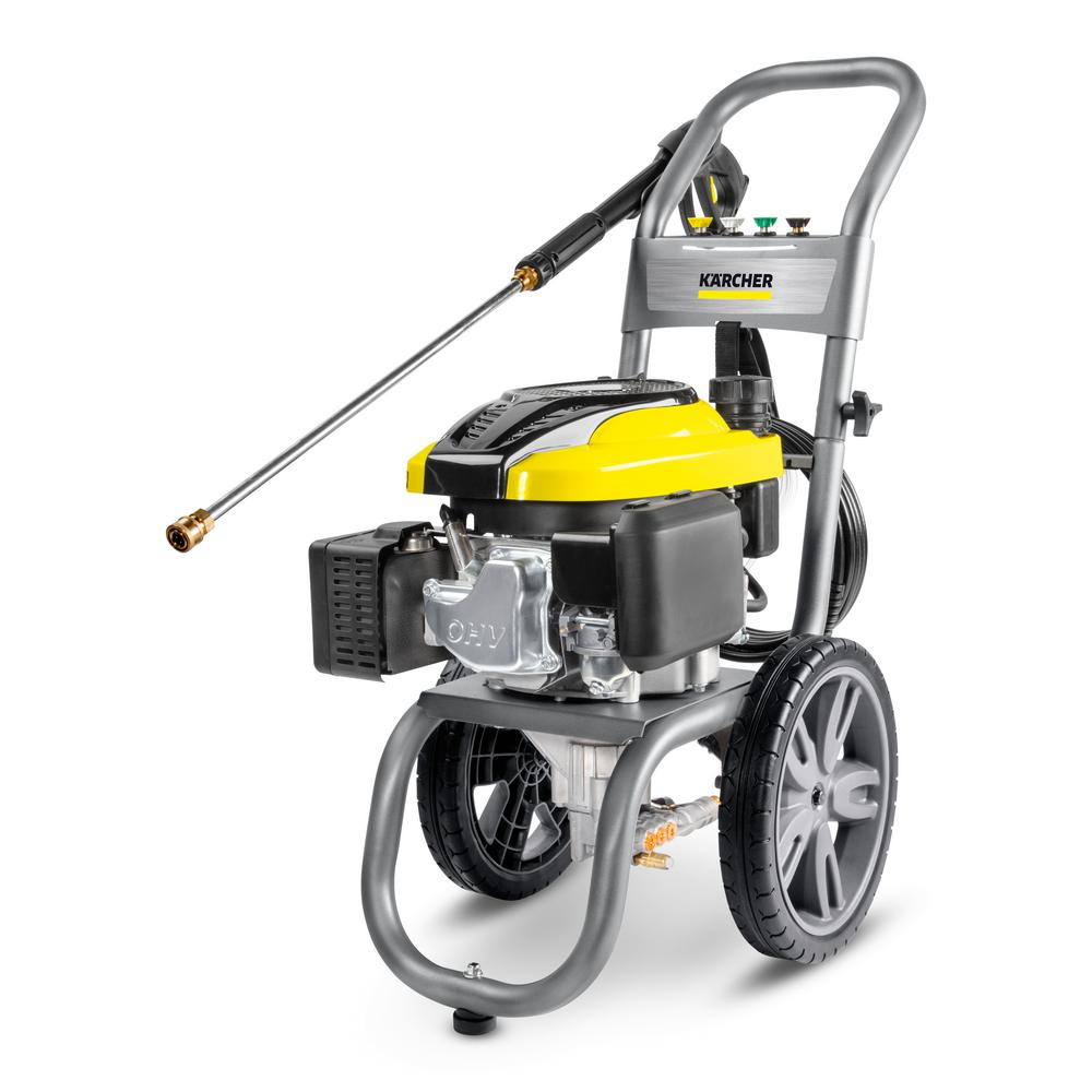 Karcher 2700 PSI 2 4 GPM Gas Pressure Washer with Karcher KSP Engine and  Axial Pump