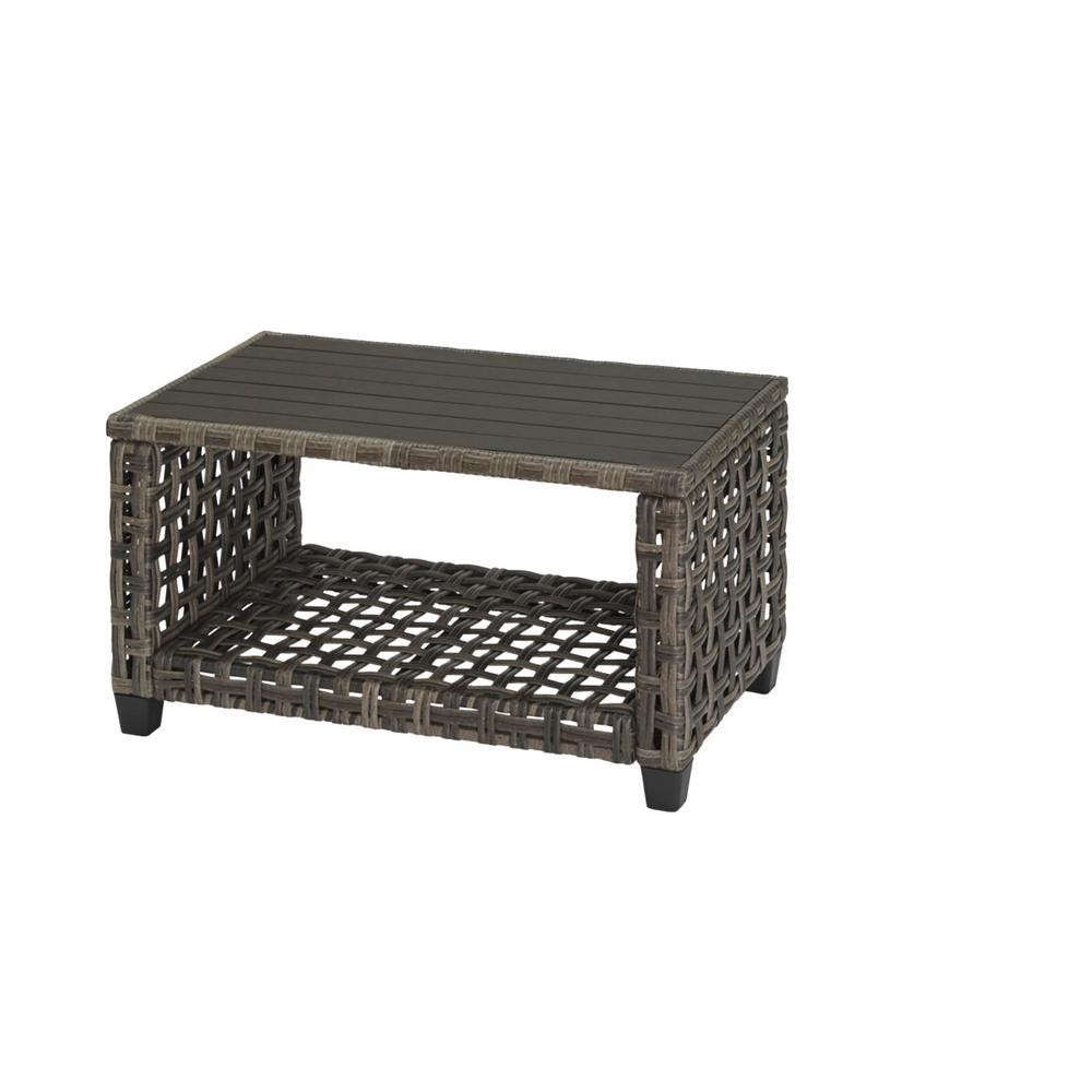 Briar Ridge Rectangular Wicker Outdoor Patio Coffee Table