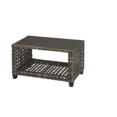 Briar Ridge Rectangular Wicker Outdoor Patio Coffee Table