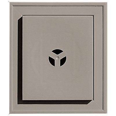 7 in. x 8 in. #008 Clay Square Universal Mounting Block