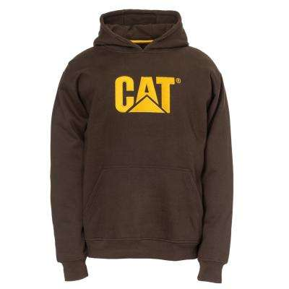 Trademark Men's Size 2X-Large Dark Earth Cotton/Polyester Hooded Sweatshirt