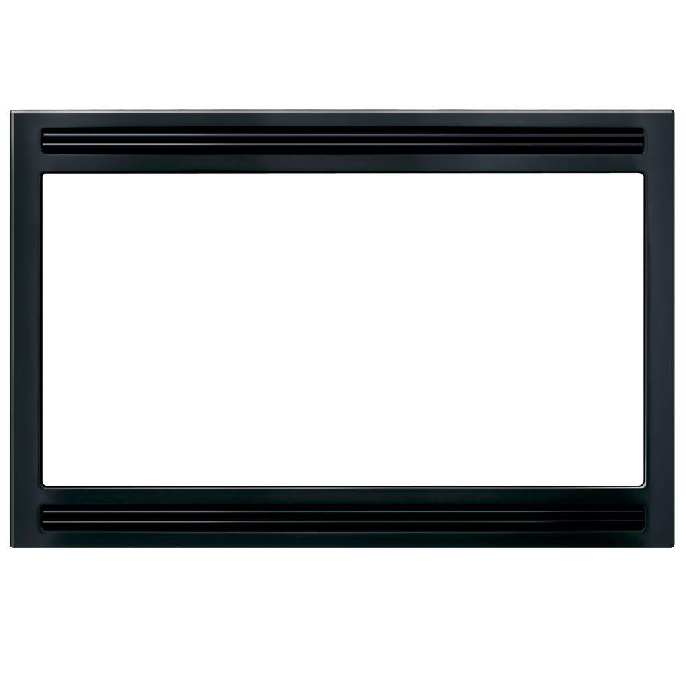 Frigidaire 27 in trim kit for built in microwave oven in for Microwave ovens built in with trim kit