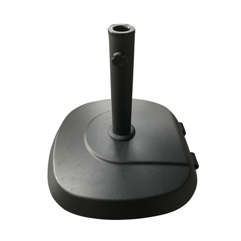 Anuta 60.63 lbs. Concrete Patio Umbrella Base in Black