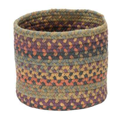 Acre Small Space Wool Basket Medley Mix 10 in. x 10 in. x 8 in.