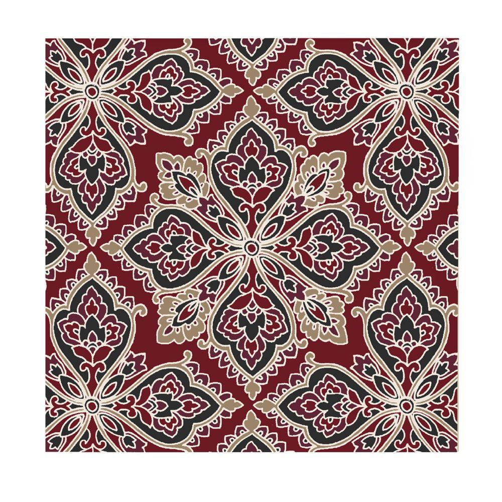 Arden Fleming Allover Chili Fabric By The Yard-DISCONTINUED