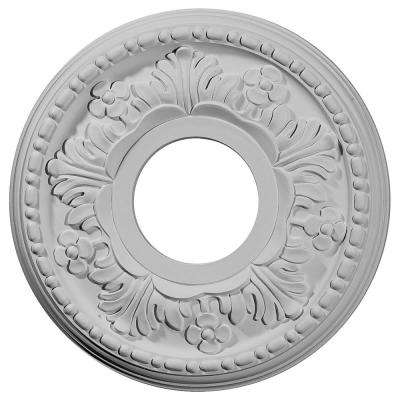 11-7/8 in. OD x 3-5/8 in. ID x 7/8 in. P (Fits Canopies up to 5-1/4 in.) Helene Ceiling Medallion