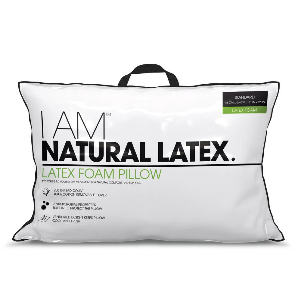 Natural Latex Queen D Pillow