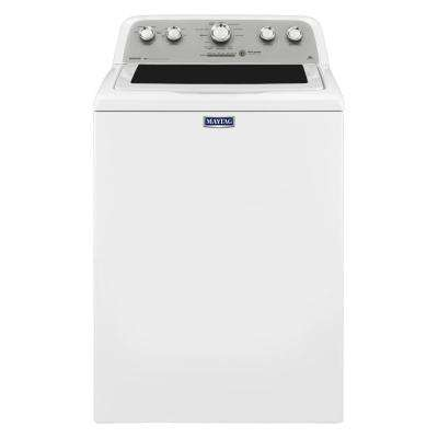 4.3 cu. ft. High-Efficiency White Top Load Washing Machine with Optimal Dispensers
