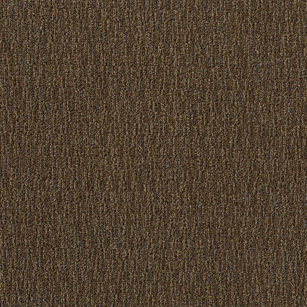 Fabricator Brown 24 in. x 24 in. Modular Carpet Tile Kit (18 Tiles/Case)