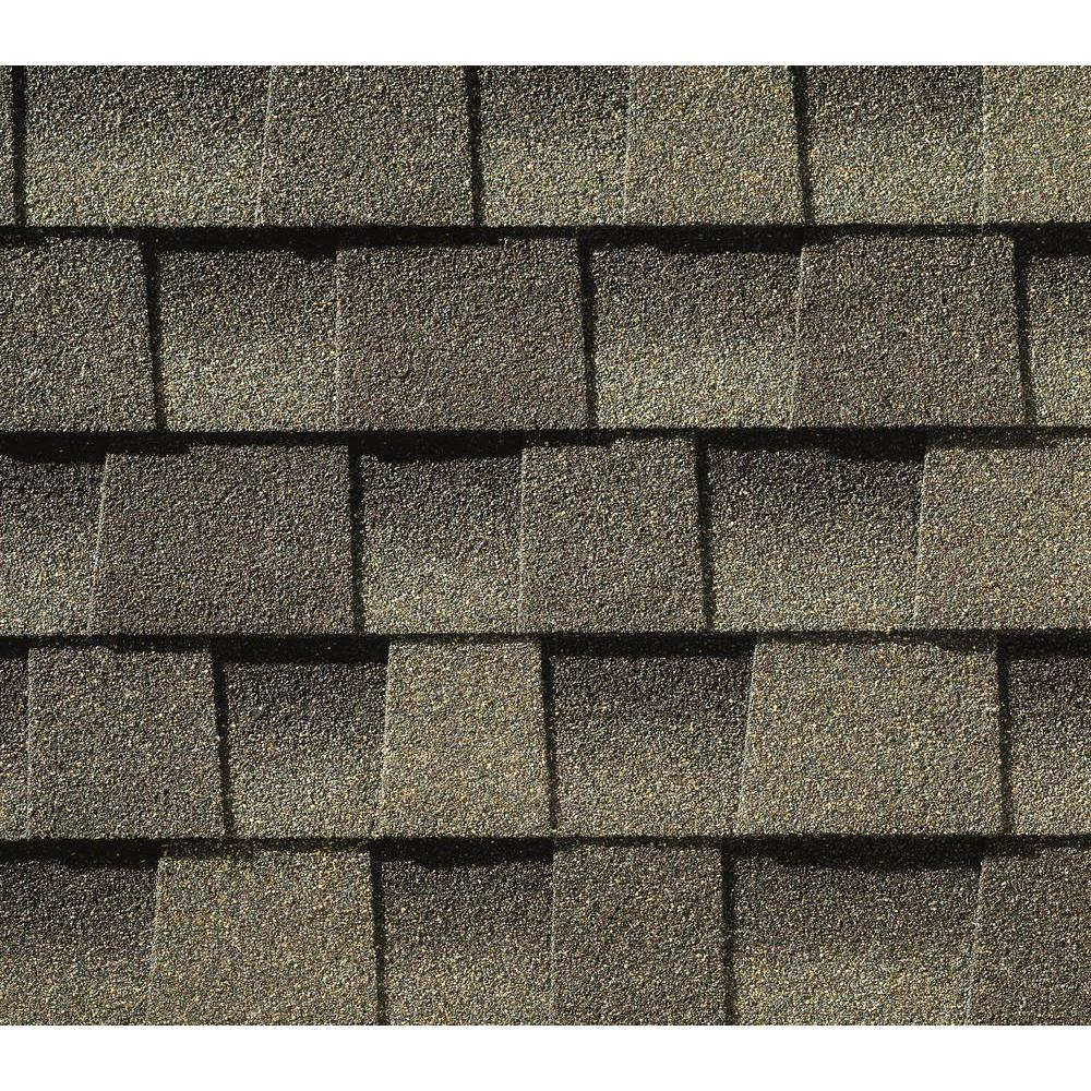 GAF Timberline Ultra HD Weathered Wood Lifetime Architectural Shingles with StainGuard ( 25 sq. ft. per Bundle)