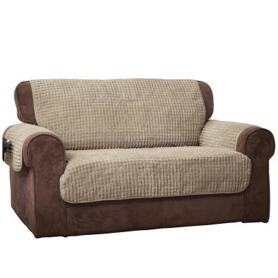 Natural Puff Chair Loveseat Furniture Protector
