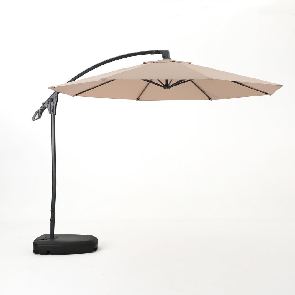 Manual Tilt Cantilever Umbrellas Patio Umbrellas The Home Depot