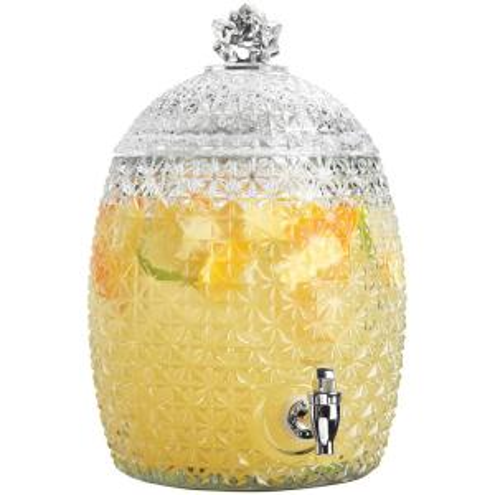 1.7 Gal. Pineapple Shaped Drink Dispenser