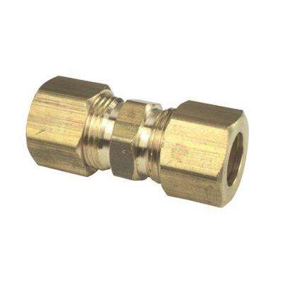 3/8 in. Lead free Brass Compression X Compression Union