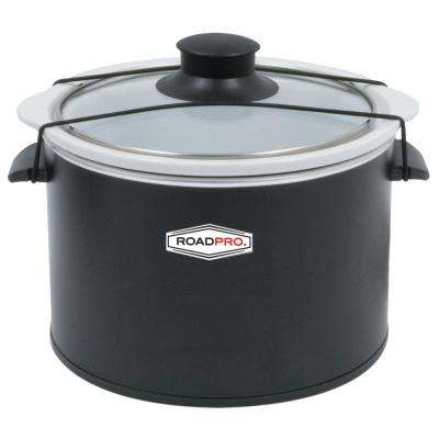 12-Volt 1.5 Qt. Slow Cooker Black