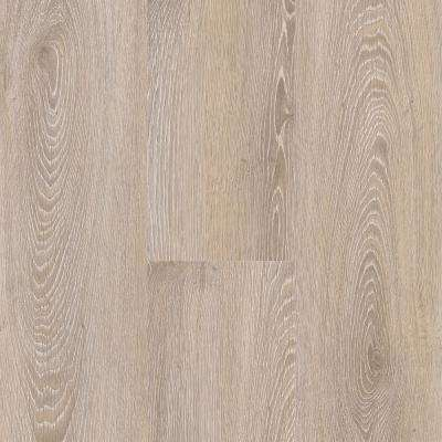 Antique Brushed Oak Washed 6 in. Wide x 36 in. Length Click Floating Vinyl Plank Flooring (20.34 sq. ft./case)