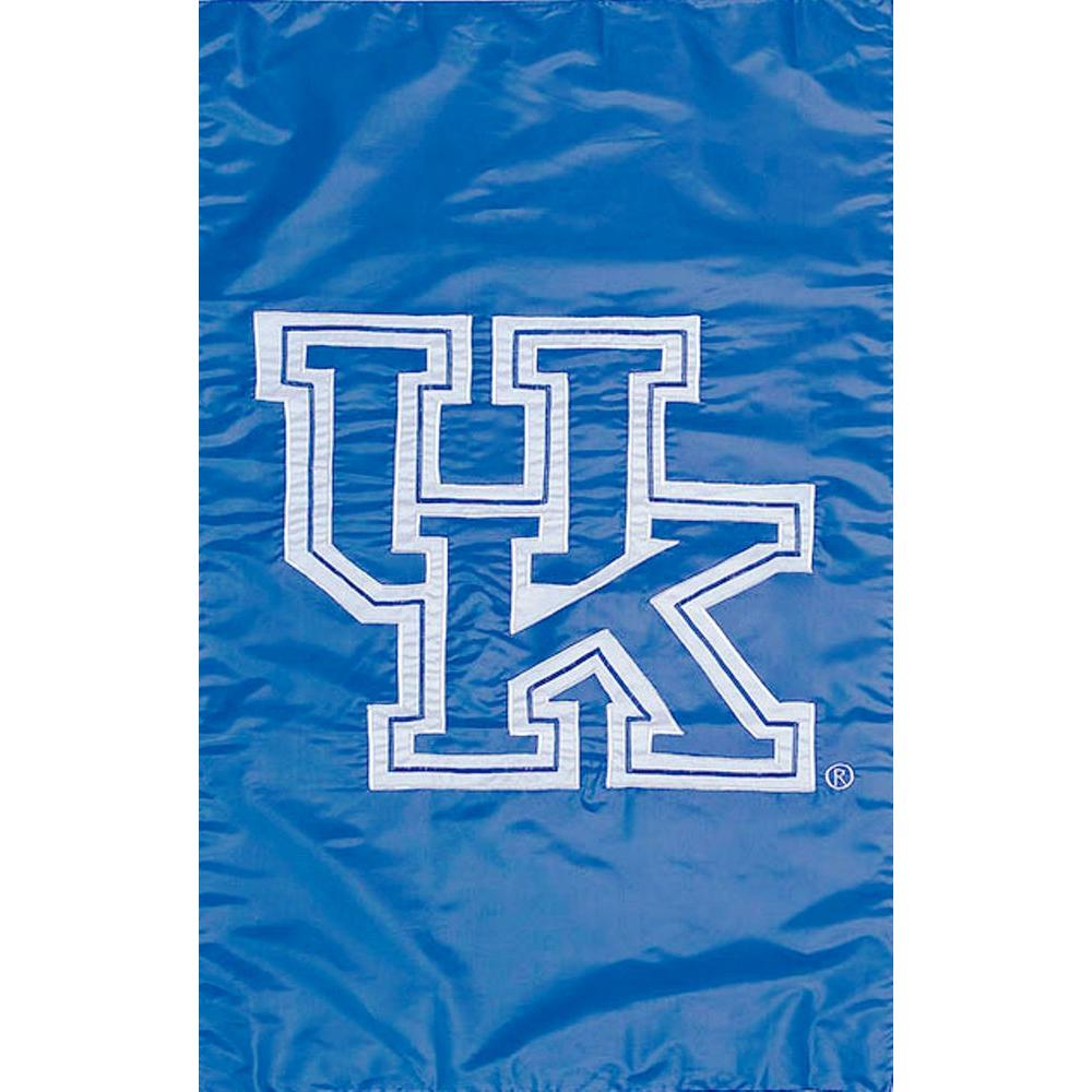 Evergreen Enterprises NCAA 12-1/2 in. x 18 in. Kentucky 2-Sided Garden Flag