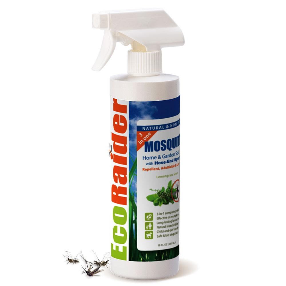 Ecoraider Mosquito Flying Insect Killer 16 Oz 3 In One