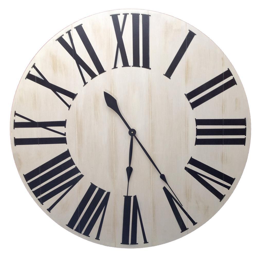 Diane 36 Inch Farmhouse clock big clock rustic clock over sized wall clock large clock farmhouse decor rustic decor