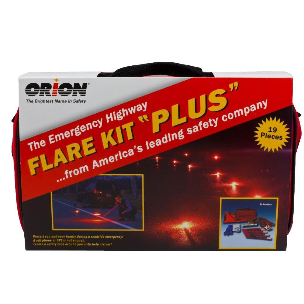 Deluxe Flare Roadside Emergency Kit