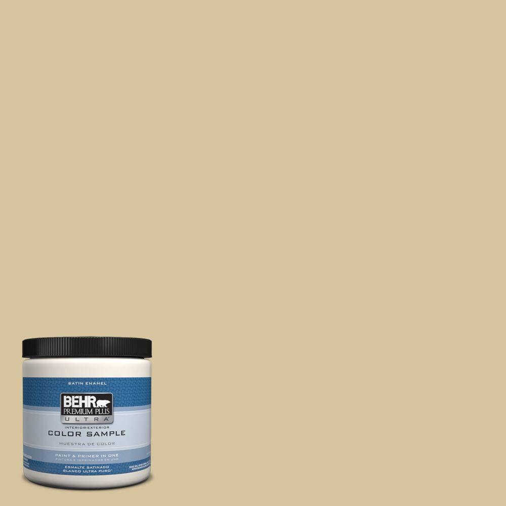 Home Decorators Collection Hdc Nt 02 White Oak Satin Enamel Interior Exterior Paint Primer Sample