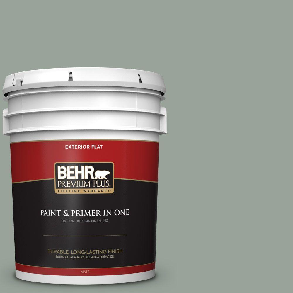 5-gal. #N410-4 Nature's Gift Flat Exterior Paint