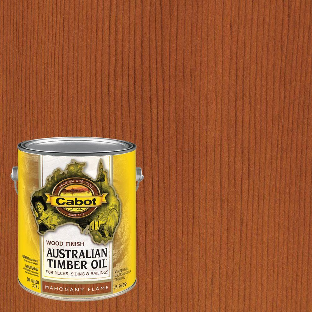 UPC 080351810077 product image for Exterior Stain: Cabot Finish 1 gal. Mahogany Flame Australian Timber Oil Exterio | upcitemdb.com
