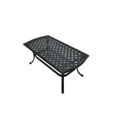 Belcourt Metal Rectangle Outdoor Coffee Table