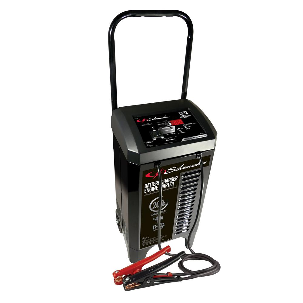 Schumacher Electric 6 Volt 12 Fully Automatic Battery Charger Engine Starter