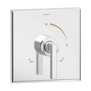 Duro Shower Valve Trim in Polished Chrome (Valve not Included)