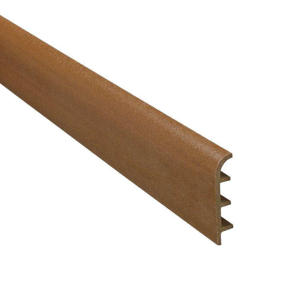 Novorodapie Wood 2-3/8 in. x 98-1/2 in. Composite Maxi Baseboard Trim