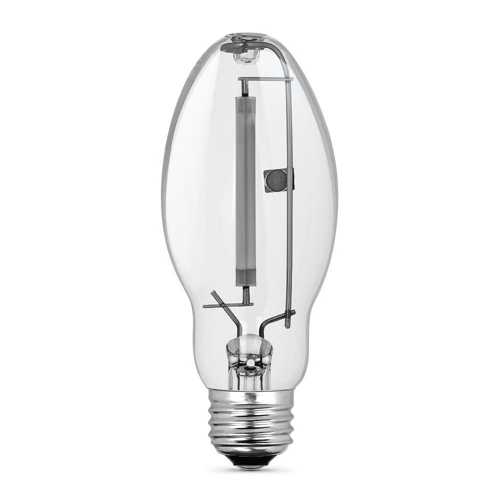 100-Watt ED17 Shape Clear High Pressure Sodium E26 Medium Base HID Light Bulb (1-Bulb)